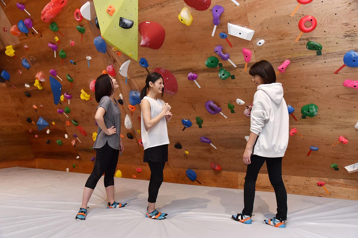 ボルダリングが初めての方にはルールやマナー、登り方を無料でレクチャーします。